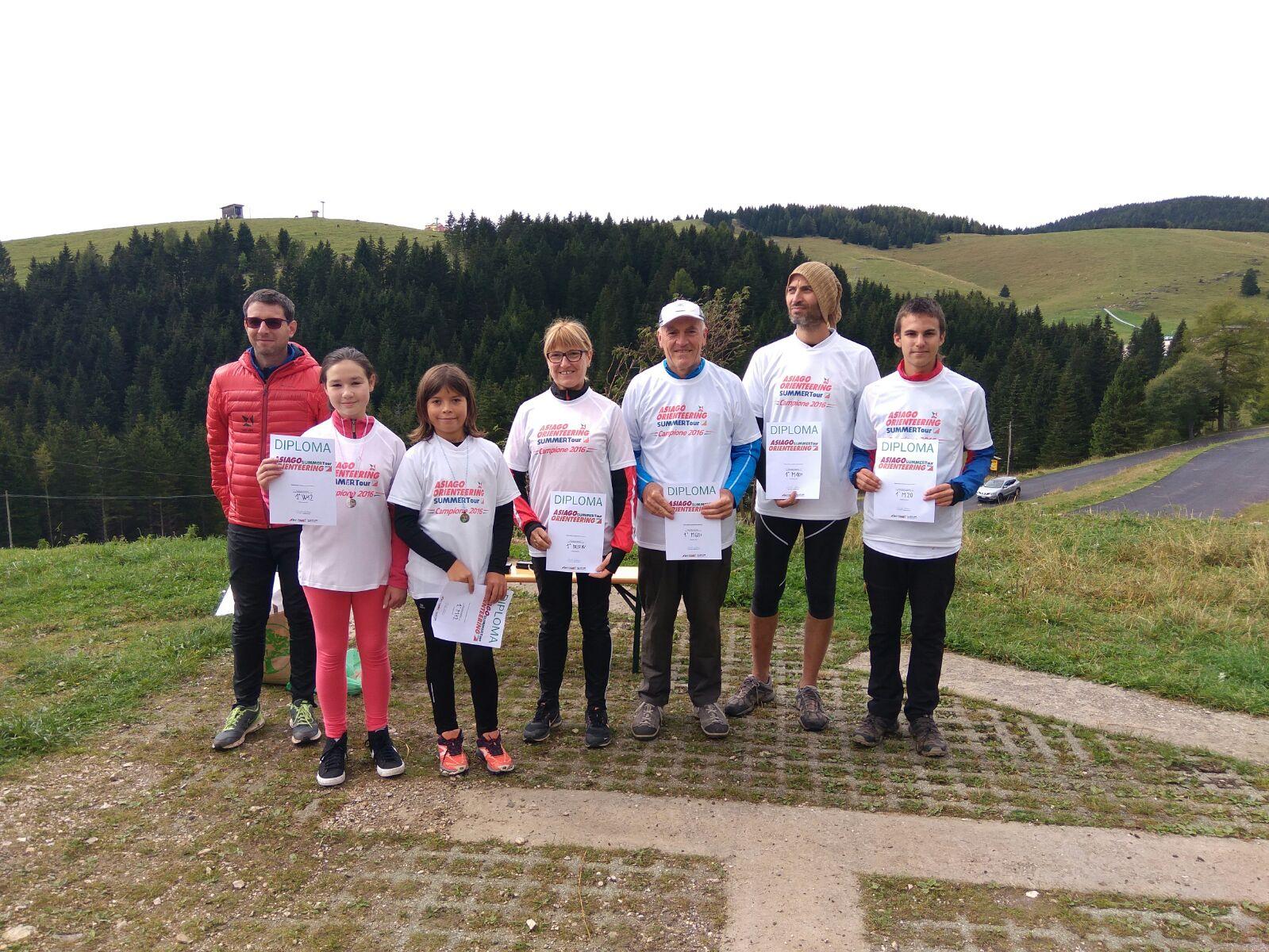 Finale asiago orienteering summer tour dal diluvio al for Le pigne dei larici